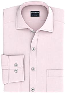 Tailorman Pink Solid Shirt