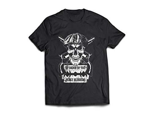 Camiseta/Camisa Masculina Peaky Blinders Série Shelby Tamanho:G;Cor:Preto