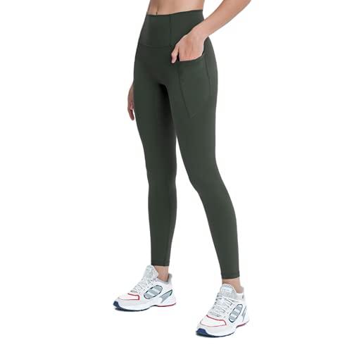 QTJY Pantalones de Yoga Suaves Ajustados y sin Costuras para Mujer, Leggings, Pantalones de Fitness de Cintura Alta, Pantalones para Correr al Aire Libre de Secado rápido, elásticos, FL