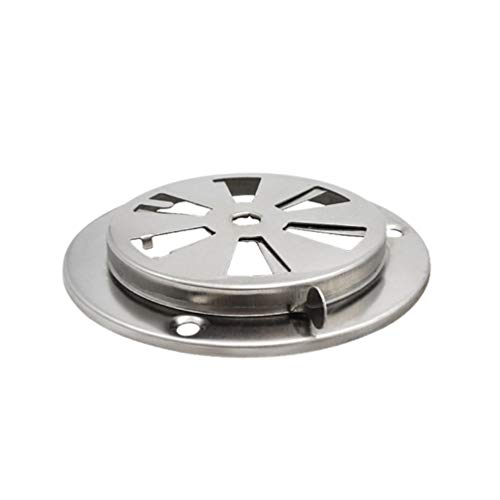 Scicalife Adjustable Air Vent Outdoor Dryer Vent Cover Dryer Damper Stainless Steel Oven Air Vent for Dryer Damper Thermostat Oven