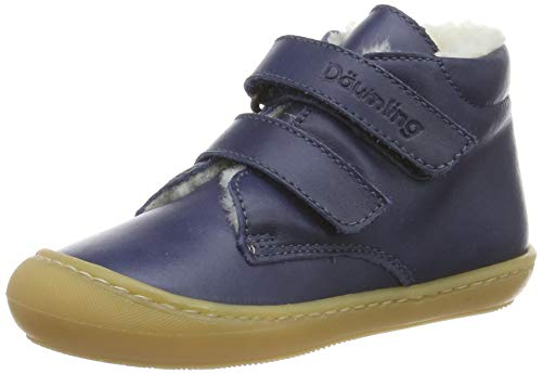 Däumling Baby Jungen Siro Sneaker, Blau (Action Jeans 42), 22 EU