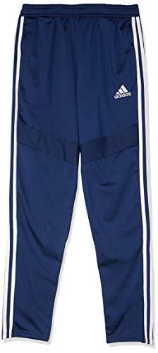 adidas Kinder TIRO19 PES PNTY Sport Trousers, Dark Blue/White, 1516