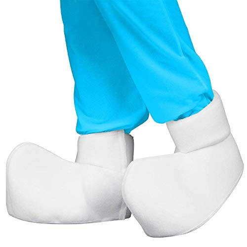 The Smurfs Costume Adult Shoe Covers