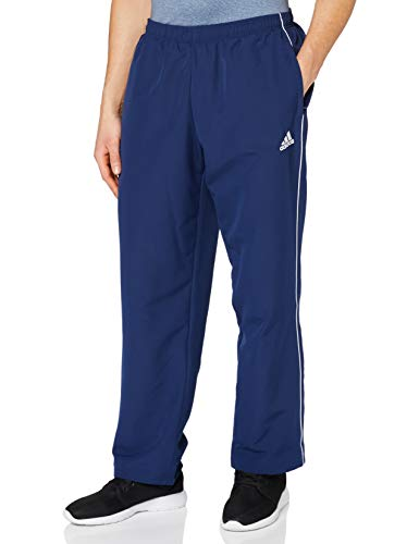 adidas Herren CORE18 PRE PNT Sport Trousers, Dark Blue/White, L
