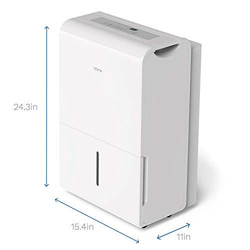 hOmeLabs 70 Pint 4,000 Sq. Ft Energy Star Dehumidifier