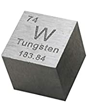 Tungsten Metalen Kubus 99,95% Gegraveerde Periodieke Tabel W Specimen