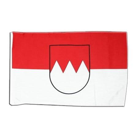 Flaggenfritze Flagge/Fahne Deutschland Franken + gratis Sticker
