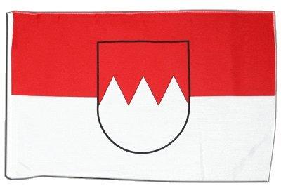Fahne Flagge Deutschland Franken 30 x 45 cm