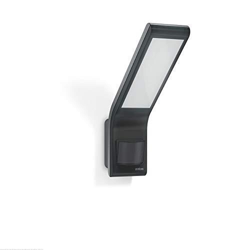 Steinel XLED home slim Anthracite 4000K- Projecteur LED à détecteur de mouvement 160°, Spot LED de puissance de 10,5 W