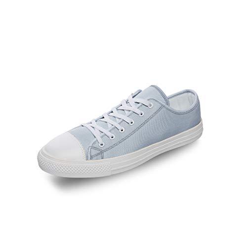 RNGIAN Zapatillas de lona con diseño de dinosaurio para mujer, suela de goma EVA, divertidas zapatillas de entrenamiento para tenis de gimnasio para adolescentes, color Blanco, talla 35 EU