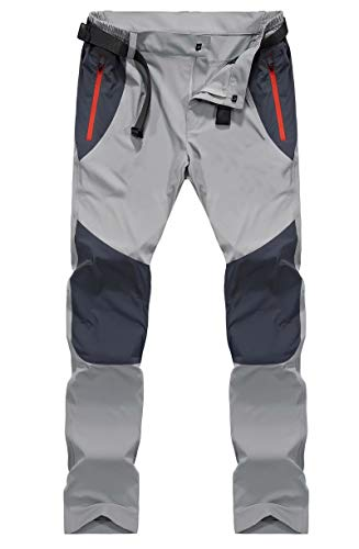 MAGCOMSEN Hiking Pants Mens Work Pants Fishing Pants for Men Summer Pants Quick Dry Pants Lightweight Pants Climbing Pants Camping Pants Zip Pockets