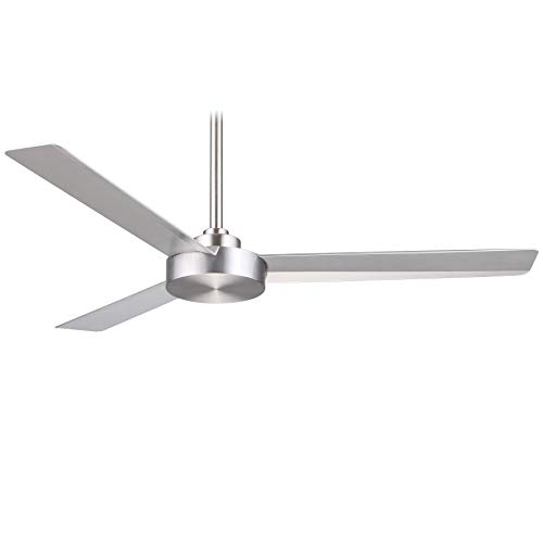 Minka Aire Roto 52 in. Indoor Brushed Aluminum Ceiling Fan with Wall Control