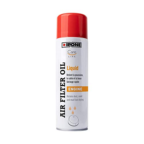 Ipone 800651 Huile Liquide Filtres Mousse Moto Air Filter Oil Liquid-500 ML – Protection Moteur – Séchage Rapide, Bleu