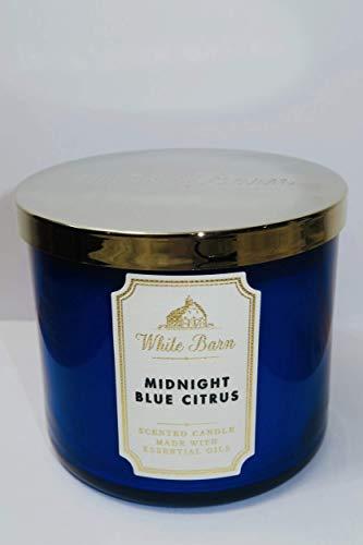 White Barn Midnight Blue Citrus 3-Wick Candle