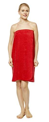 Arus-Saunakilt-Damen, Größe: S/M, Farbe: Rot
