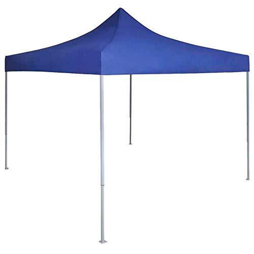 lyrlody - Tienda para piscina, cenador de jardín, carpa para fiestas, jardín, para exteriores, para espectáculos, bodas, barbacoas, 3 x 3 x 3,15 m, azul