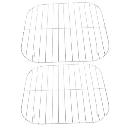 YARNOW 2 Piezas de Cesta de Vaporizador de Acero Inoxidable Práctico Estante de Vaporizador Antiadherente Bun Estante de Secado Estantes de Refrigeración Herramientas de Cocina