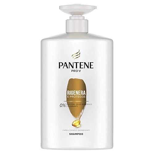 Pantene Pro-V Shampoo Rigenera & Protegge per Capelli Deboli o Danneggiati, Maxi Formato da 1000 ml