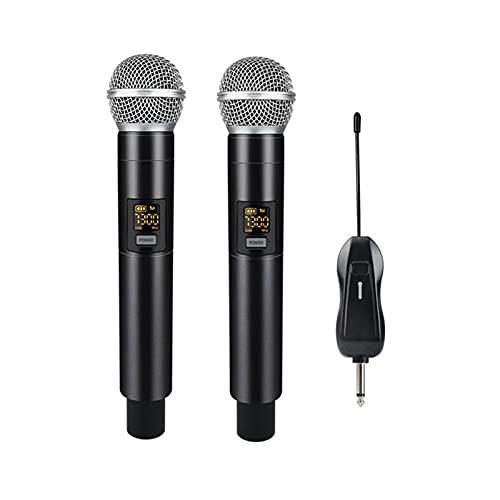 Xu Yuan Jia-Shop Mikrofone Handheld Dynamic Mic System 25 Frequenz UHF....