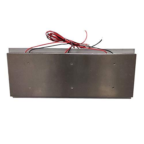 SODIAL Tablero de Enfriamiento del Plano de Enfriamiento del Semiconductor de Tres NúCleos DIY