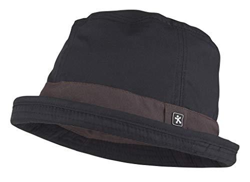 MEDANTA 6009 Ripe Koch Hut mit Krempe, Kochmütze Herren und Damen Hut, Chefkoch Kopfbedeckung, Bucket Chef Hat, Größe M, Kopfumfang 54cm, Schwarz