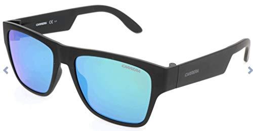Carrera 5002/ST Z9 DL5 Gafas de sol, Negro (Matte Black/Green Multilaye), 55 Unisex-Adulto