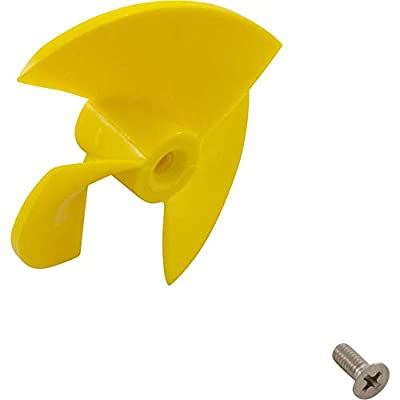 DOLPHIN Impeller with Screw (Yellow)