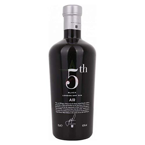 5th AIR Black London Dry Gin 40,00% 0,70 lt.
