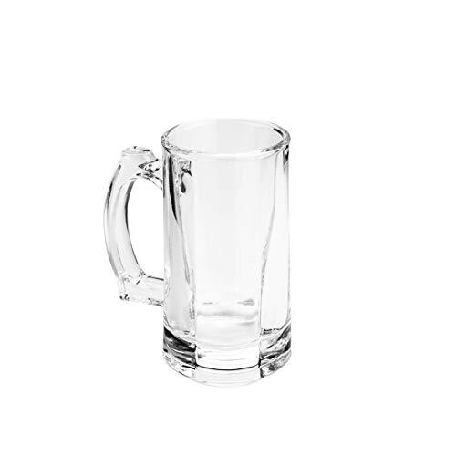 Caneca P/chopp E Cerveja De Vidro Hamburgo 365ml Lyor Transparente