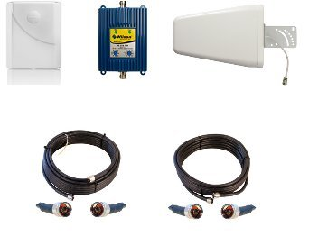 Afc-houston - 801865 Wilson 4g LTE Cell Phone Signal Booster Kit w/ Antennas - For Verizon Only