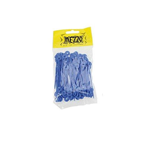 pic fuseaux pvc long bleu x 100