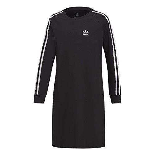 adidas Originals Big 3-Stripes Kleid für Mädchen - Schwarz - XS