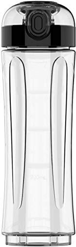 GEARGO Küchenminis Trinkflasche, 600 ml, Mixbehälter, Tritan-Kunststoff, BPA-frei, bruchsicher