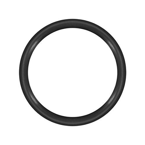 uxcell Nitrile Rubber O-Rings 8mm OD 6mm ID 1mm Width, Metric Buna-N Sealing Gasket, Pack of 50