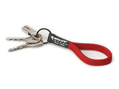 Artisan & Artist ACAM-314N Schlüsselhalter, Seide, Rot