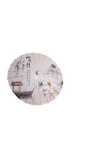 GODHL Bambù cinese orientale ombrello parasole danza classica ombrello Lotus