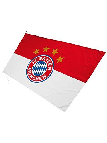 FC Bayern München Hissfahne Logo 250x150cm