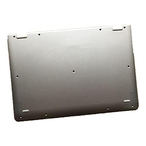 fqparts Cubierta Inferior de la Caja del Ordenador portátil D Shell para Lenovo ideapad Yoga 710-11IKB 710-11ISK Color Plata 5CB0L46164