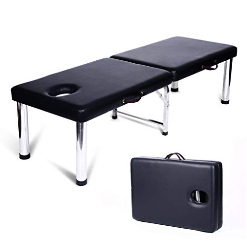 YCDJCS Cama de Belleza portátil de Acero Inoxidable Plegable de Acero Inoxidable Cama de Masaje para el hogar Multifuncional para el salón de Tratamiento de la Terapia de Reiki Sillas y taburetes