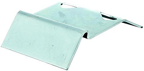 GAH-Alberts 211417 Auflaufstütze, zum Einbetonieren, mit abschraubbaren Mauerkrallen, galvanisch blau verzinkt, 125 x 47 mm