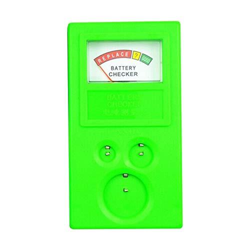 Universeller Batterietester für Knopfzellen, 3 V, 1,55 V, AA/AAA – Grün