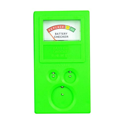 Universal 3 V 1,55 V AA/AAA Knopfbatterie-Tester Prüfgerät, Genauigkeit – Grün