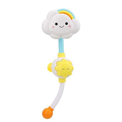 Zerodis Baby Badespielzeug Kunststoff Bad Sonnenblumen Spray Wasser Duschwanne Wasserhahn Bad Spielzeug Geburtstag Kinder Jungen und Mädchen