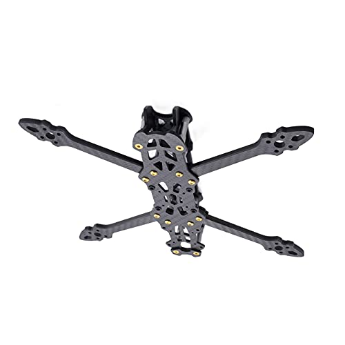 VIKEP Marco 225mm 260mm 295mm FPV.Racing Drone Frame Freestyle X Quadcopter 5mm Braccio Adatto for Gep.Mark4 5in 6in 7in Rc.Drone (Color : MARK4 HD5)