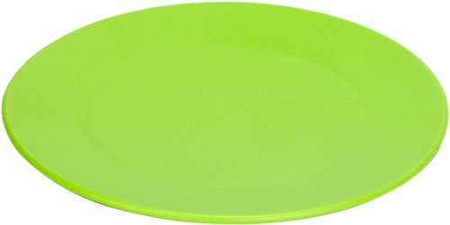 Green Eats 4 Pack Snack Plate, Blue