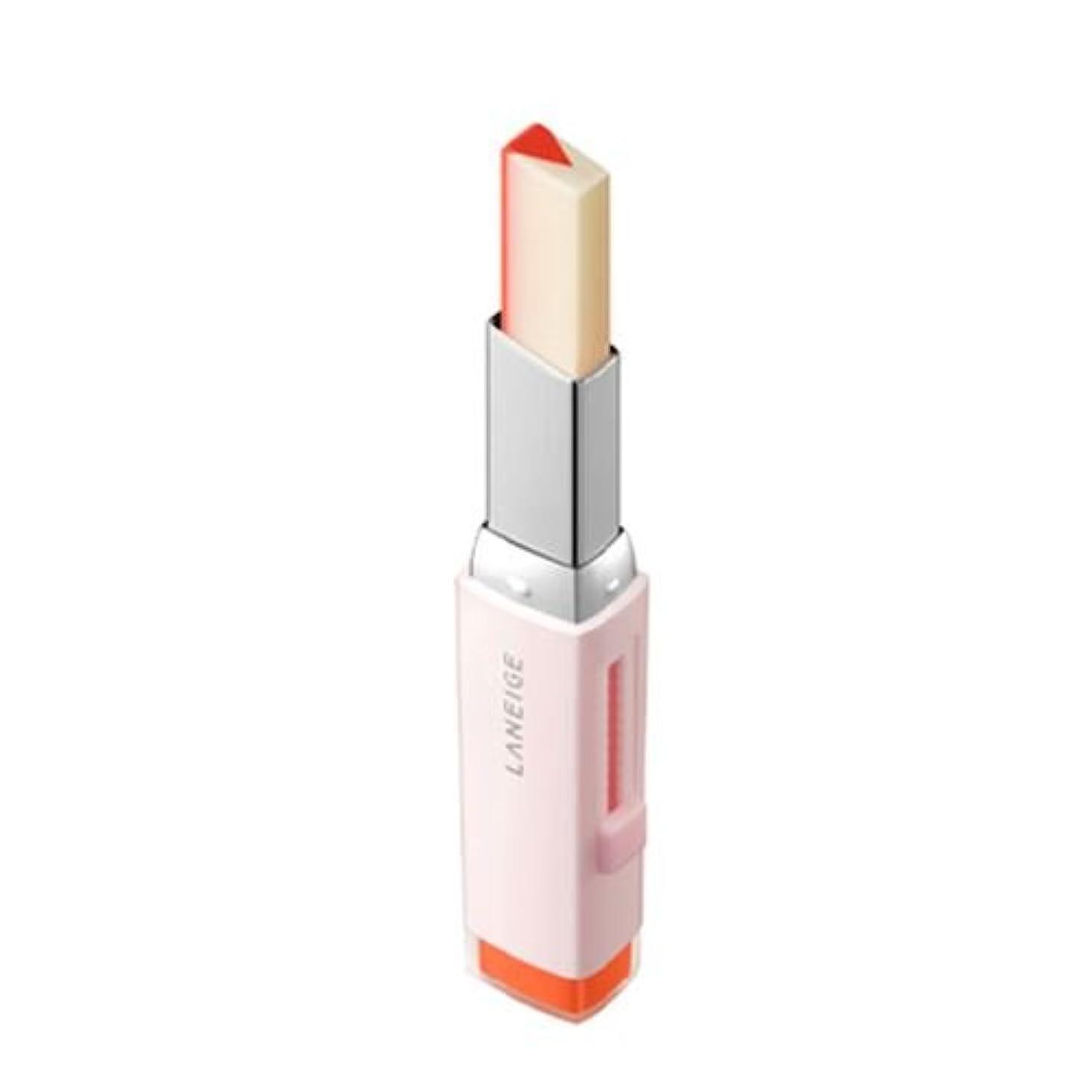 キャスト自発的マージ[New] LANEIGE Two Tone Tint Lip Bar 2g/ラネージュ ツー トーン ティント リップ バー 2g (#02 Tangeine Slice) [並行輸入品]