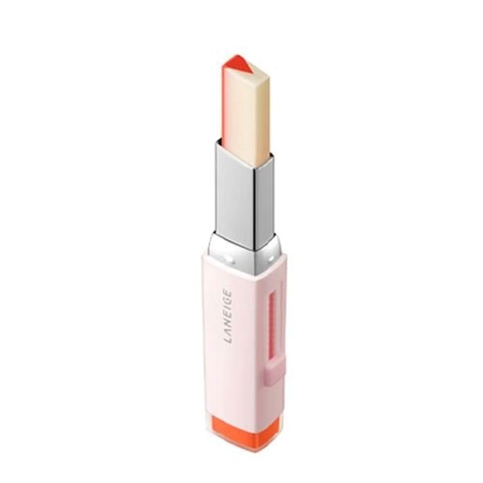 ディスコ音楽家スタイル[New] LANEIGE Two Tone Tint Lip Bar 2g/ラネージュ ツー トーン ティント リップ バー 2g (#02 Tangeine Slice) [並行輸入品]