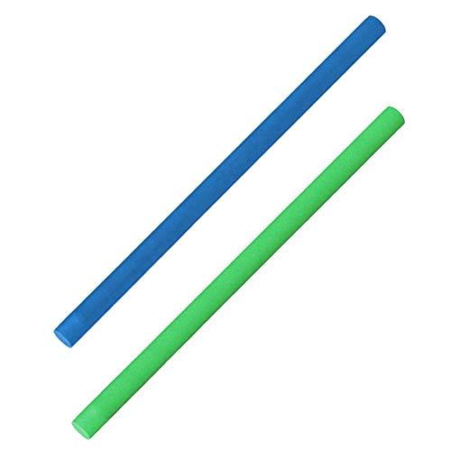 COMFY Original Poolnudel Schwimmnudel 2er Set, blau + grün