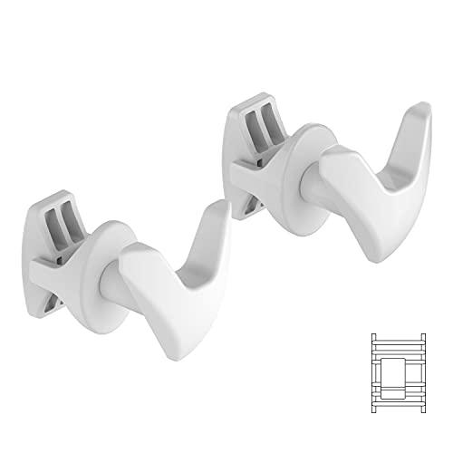 Coppia Handy Vip Scaldasalviette - Porta asciugamani, si Fissano Direttamente sul Radiatore Scaldasalviette - Bianchi