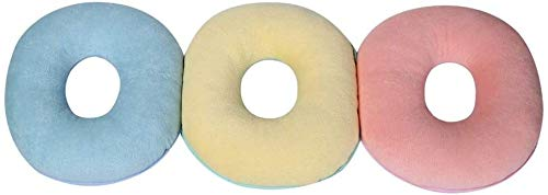 AY Comfort Therapy Donut Cushion - Pain relieving Hemorrhoid Pillow, Prostate Cushion, Post Natal Cushion and Medical Pressure Cushion for post-surgery comfort and care,Diameter: 30CM ( Color : Pink )